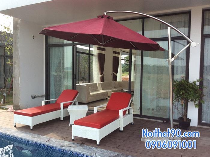 Giường bể bơi, bãi biển, ghế thư giãn 3722