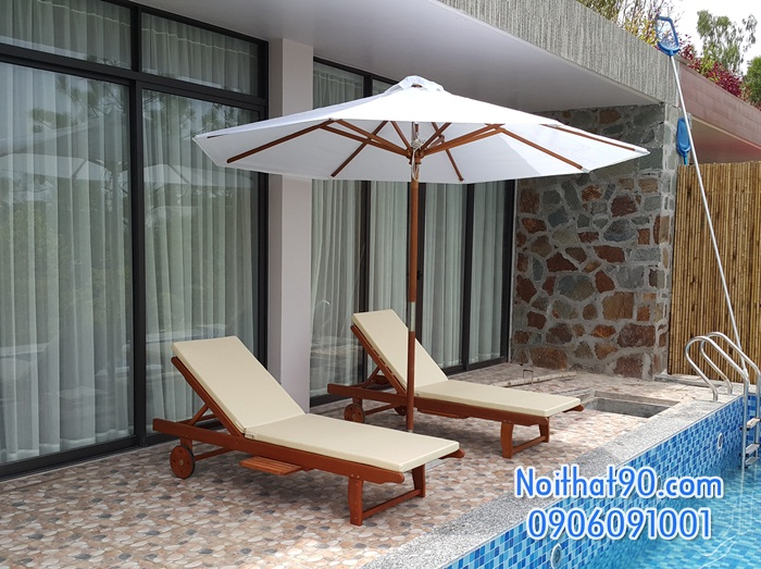 Giường bể bơi, bãi biển, ghế thư giãn 3806