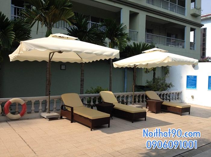 Giường bể bơi, bãi biển, ghế thư giãn 3890