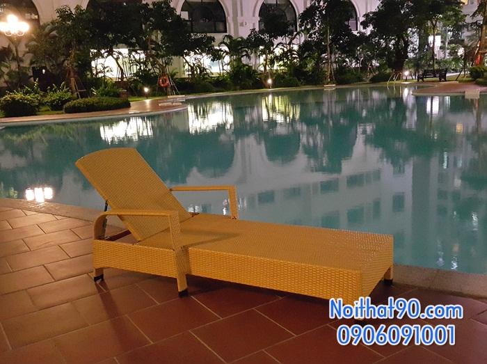 Giường bể bơi, bãi biển, ghế thư giãn 4651