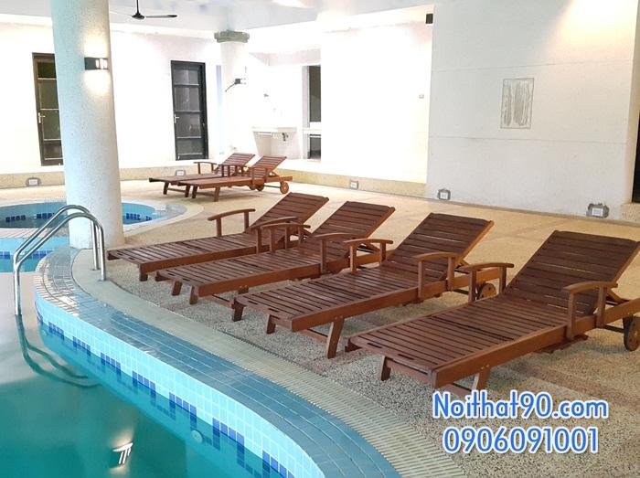 Giường bể bơi, bãi biển, ghế thư giãn 4911
