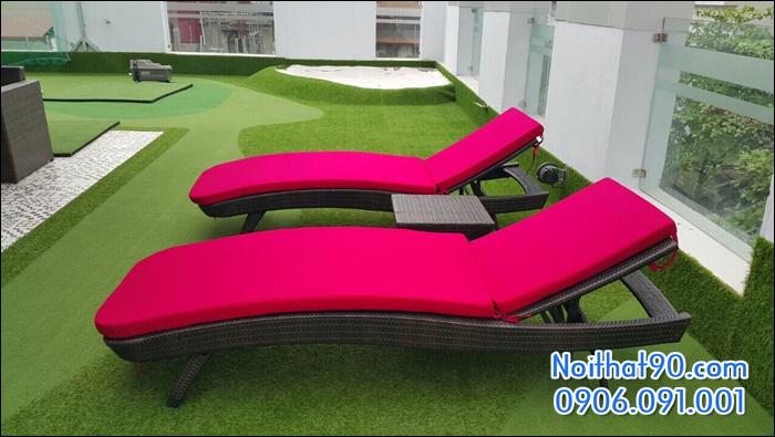 giường bể bơi, bãi biển, ghế thư giãn 5129
