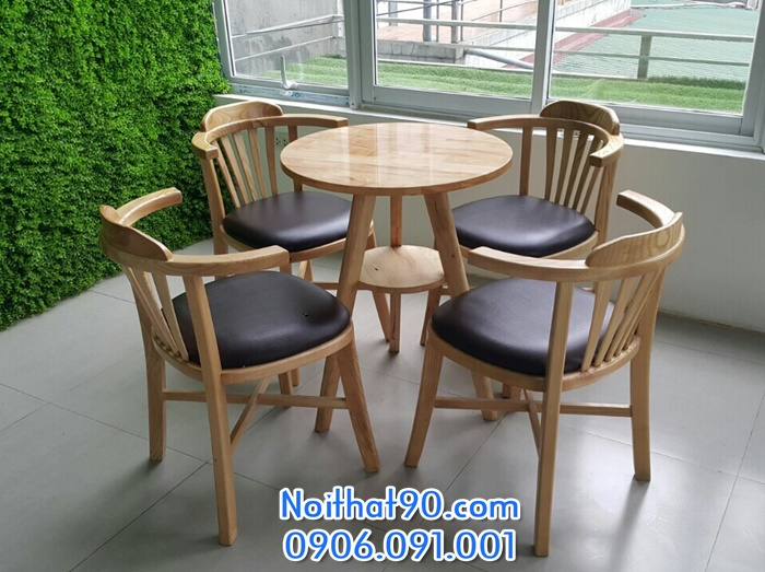 Bàn ghế gỗ 5552