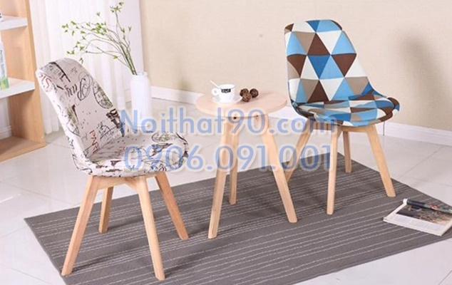 Bàn ghế cafe EAMES 3354