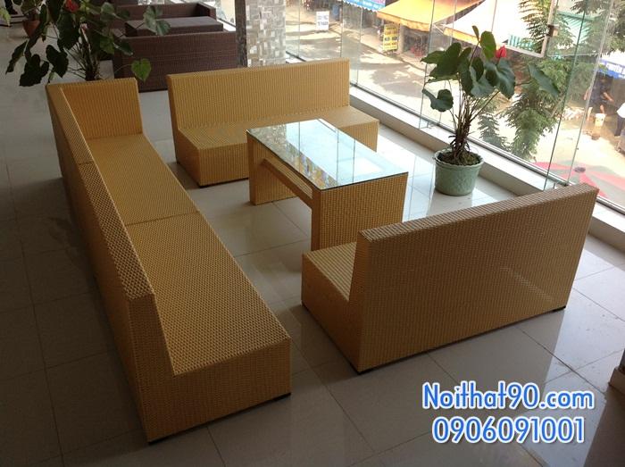 Sofa phòng khách, sofa nhà hàng 0809