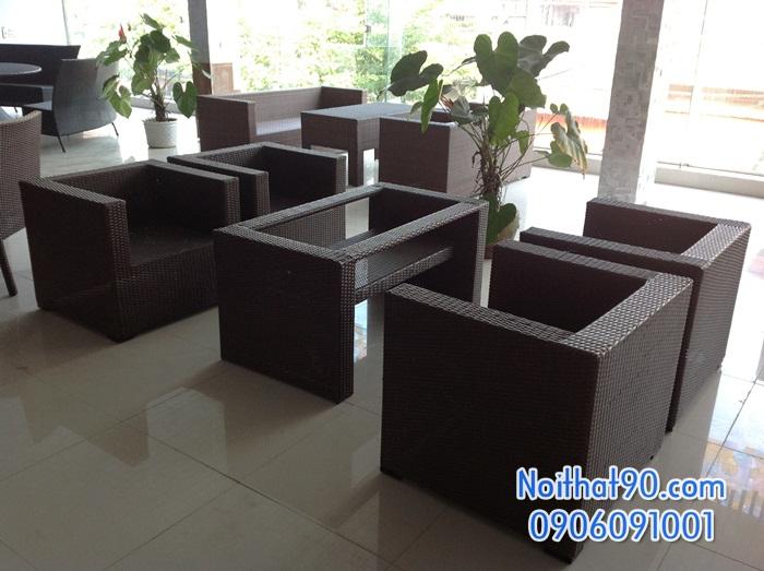 Sofa phòng khách, sofa nhà hàng 0814
