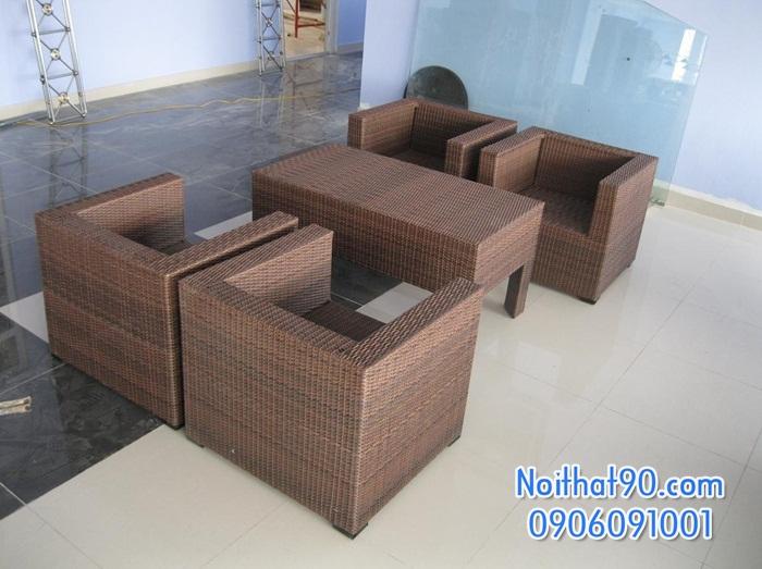 Sofa phòng khách, sofa nhà hàng 0851