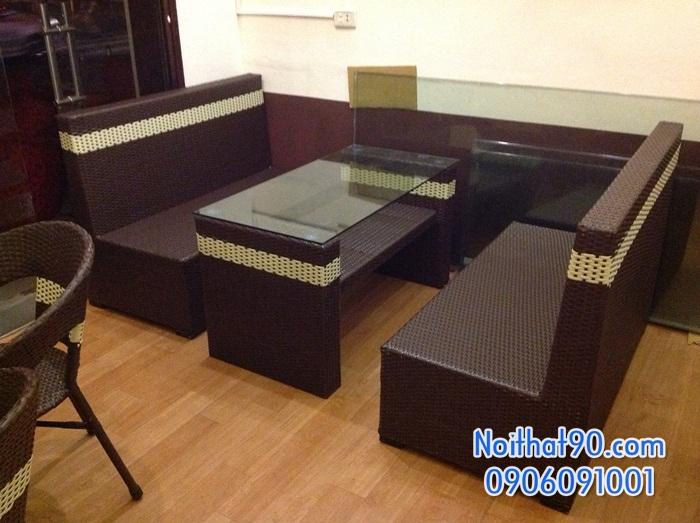 Sofa phòng khách, sofa nhà hàng 1132