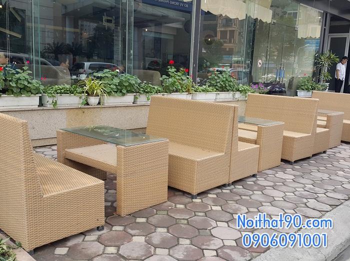 Sofa phòng khách, sofa nhà hàng 1324