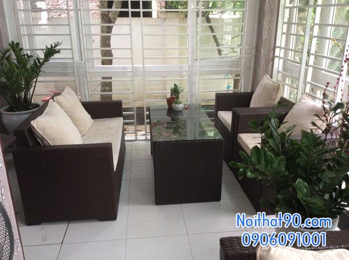 Sofa phòng khách, sofa nhà hàng 1716
