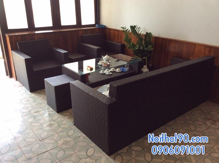 Sofa phòng khách, sofa nhà hàng 3558