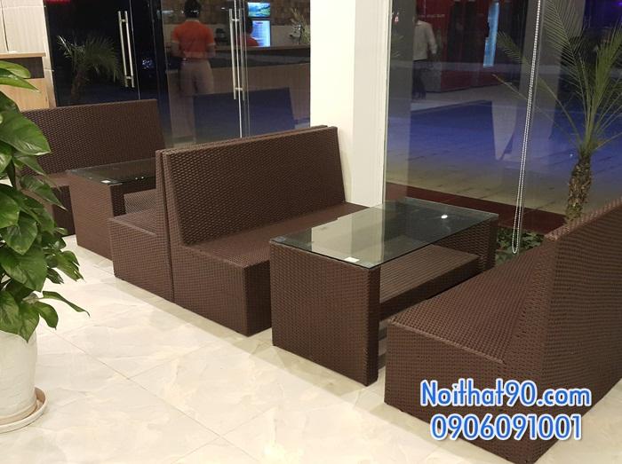 Sofa phòng khách, sofa nhà hàng 4637