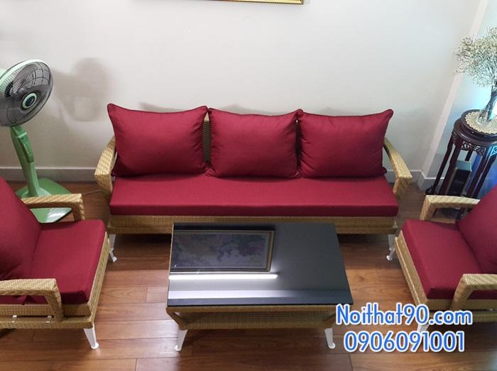 Sofa phòng khách, sofa nhà hàng 8543