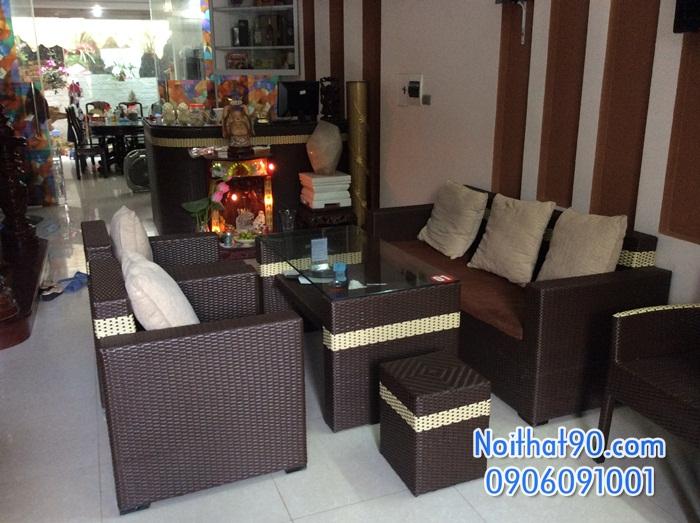 Sofa phòng khách, sofa nhà hàng cf0607