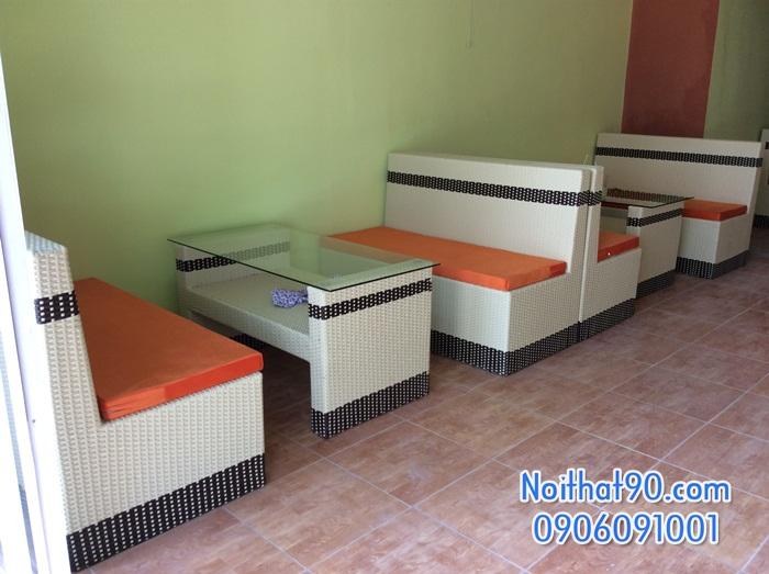 Sofa phòng khách, sofa nhà hàng cf0608