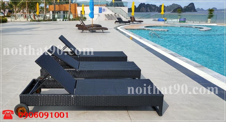 Giường bể bơi, bãi biển, ghế thư giãn 24669