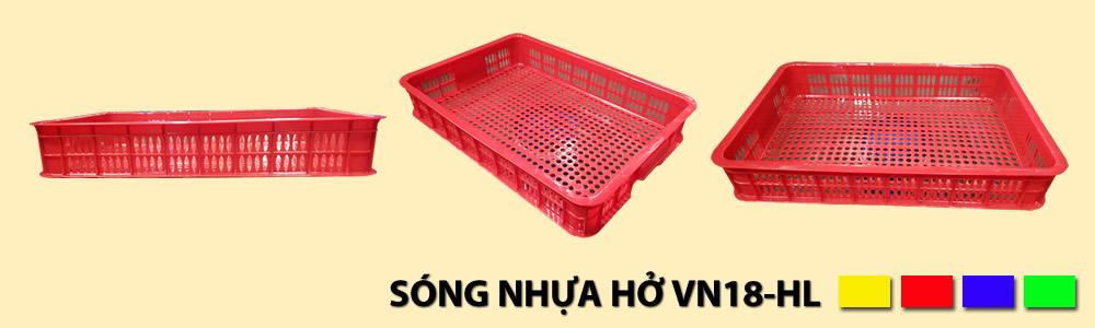 Sóng nhựa hở VN18-HL