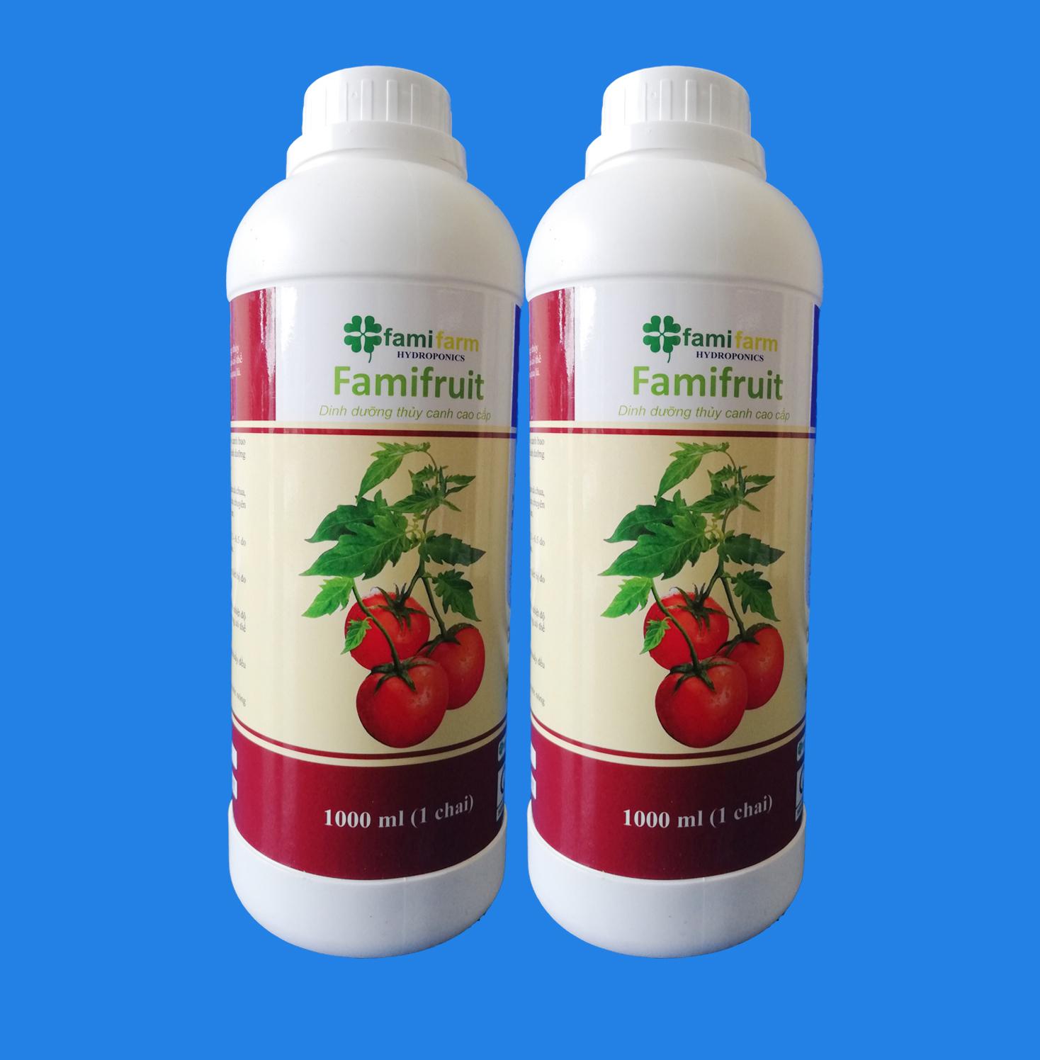 Dinh dưỡng thủy canh Famifruit 2 Lít