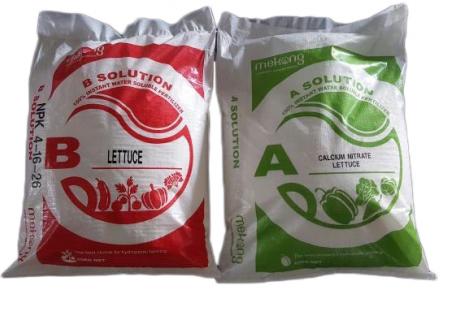 Dinh dưỡng thủy canh cho xà lách, rau cải