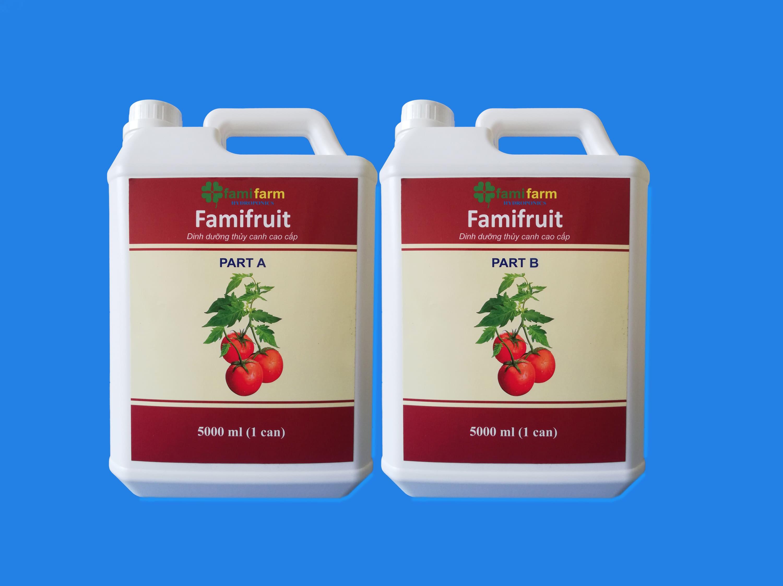 Dinh dưỡng thủy canh Famifruit 10 Lít