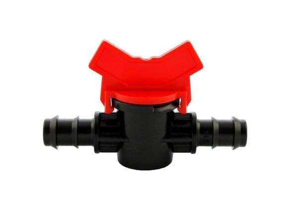 Van khóa 2 đầu gân cho ống 16 mm