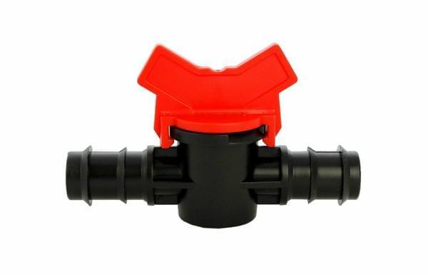 Van khóa 2 đầu gân cho ống 20 mm