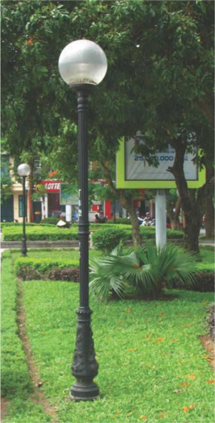 Cột đèn sân vườn Bambo