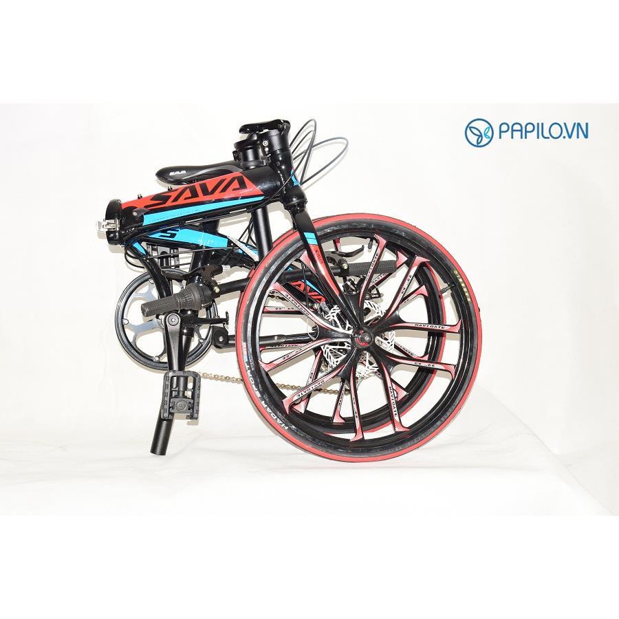 Xe đạp gấp Sava V5