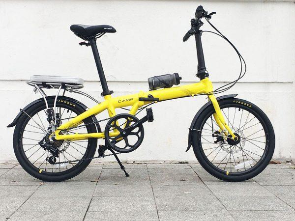 Xe đạp gấp Camp X-One (2021) kiểu dáng thanh lịch hiện đại