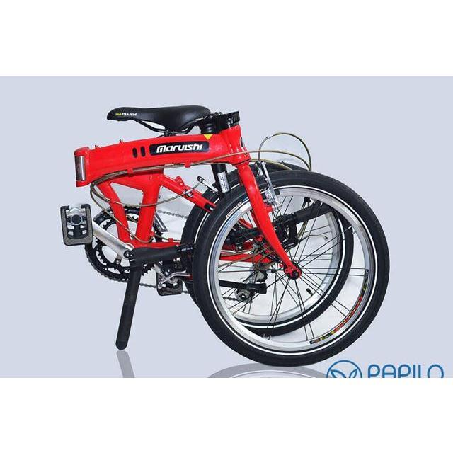 Xe đạp gấp Nhật Bản Maruishi 063 - Khỏe khoắn và Độc đáo