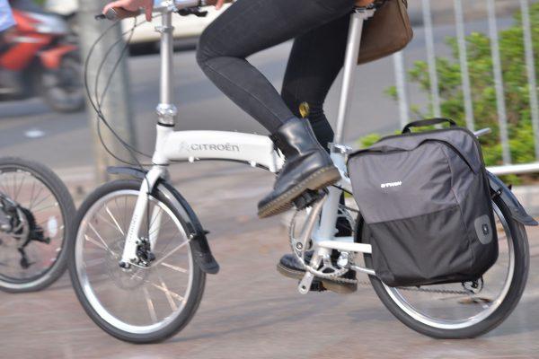 Túi chứa đồ dành cho xe đạp BTwin 15L