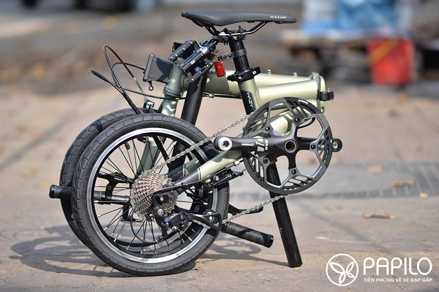 Xe đạp gấp siêu nhẹ Camp Hazy (liên doanh Mỹ- Indonesia)