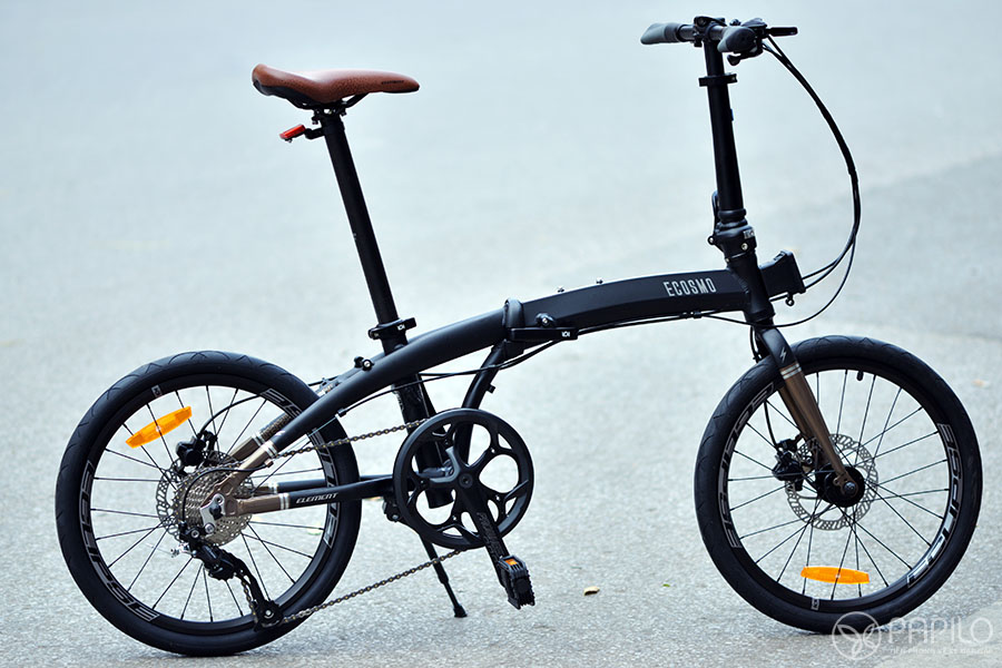 Xe đạp gấp Ecosmo 9 đơn giản nhưng mạnh mẽ