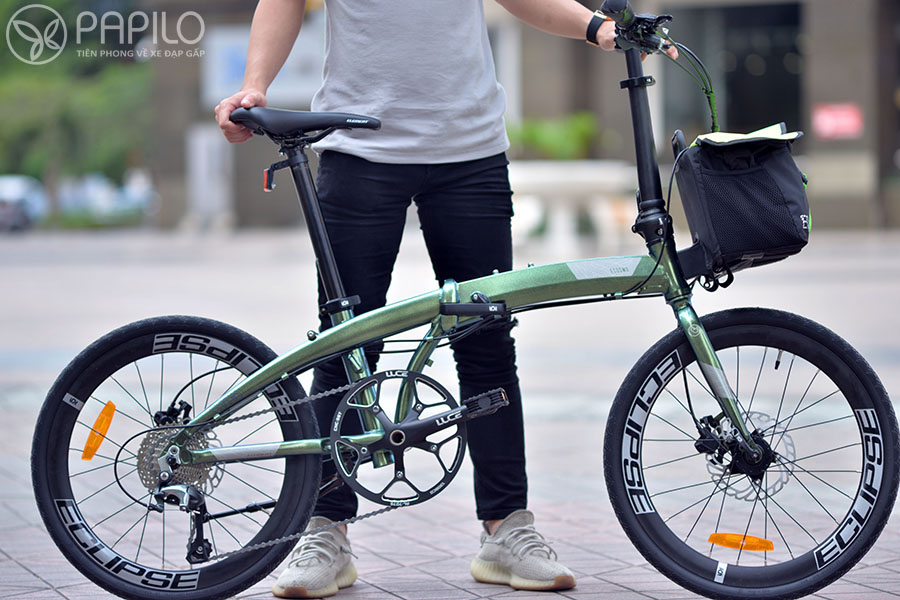 Xe đạp gấp Ecosmo 10 – (Liên doanh Mỹ-Indonesia) – Tiêu chí: Nhanh hơn, đẹp hơn