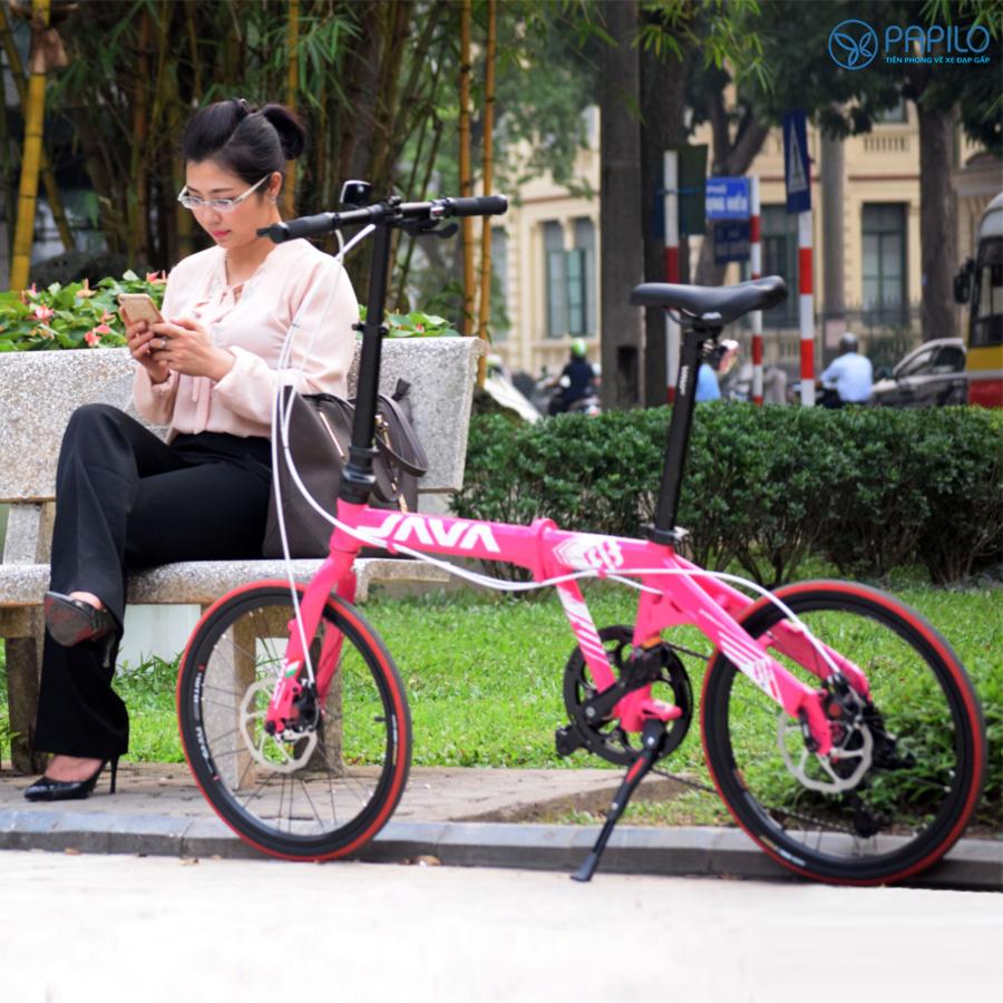 Xe đạp gấp Java Fit 8SD