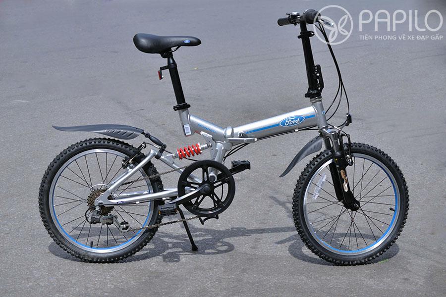 Xe đạp gấp Ford Mondeo (sản phẩm của hãng ô tô Ford, đặt hãng xe đạp Dahon sản xuất)