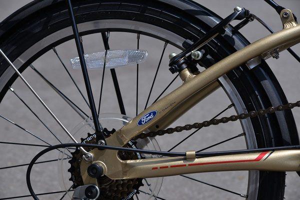 Xe đạp gấp Ford S-Max (hàng KM do Dahon sản xuất)