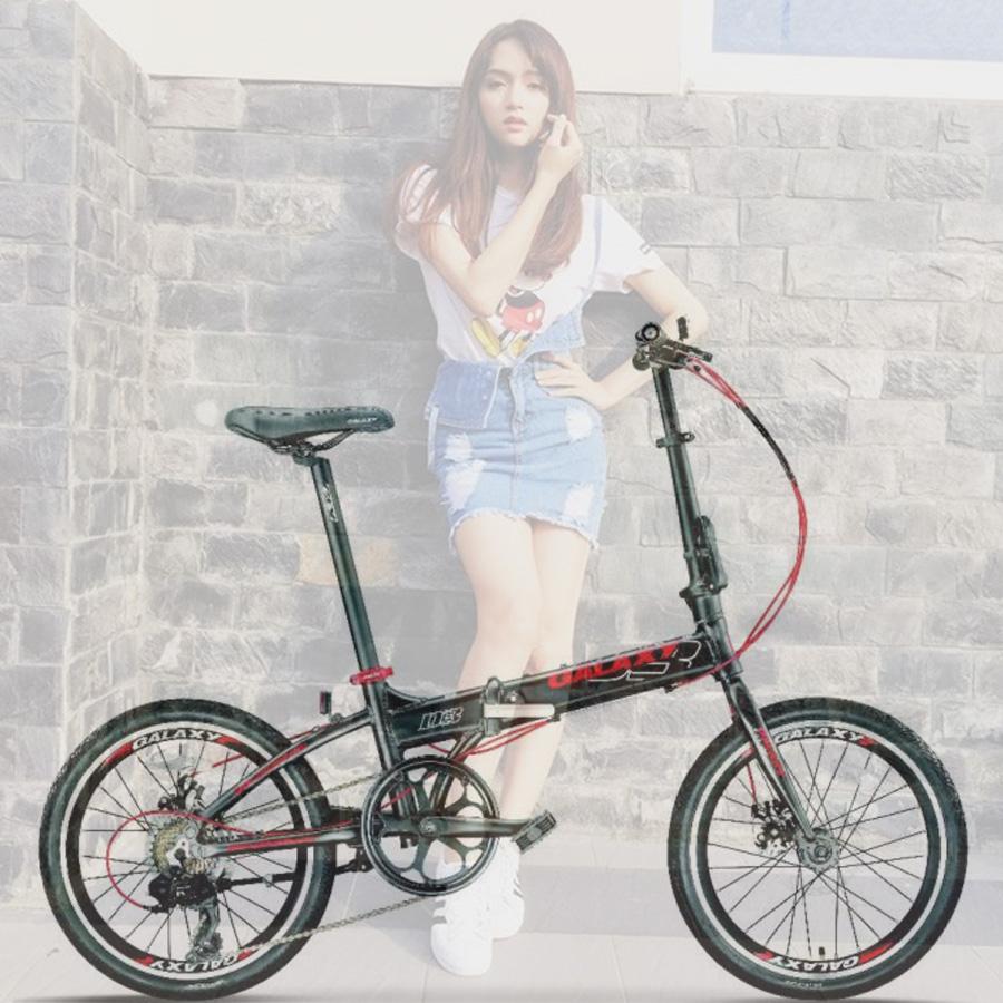 Xe đạp gấp Galaxy D3- trẻ trung hầm hố