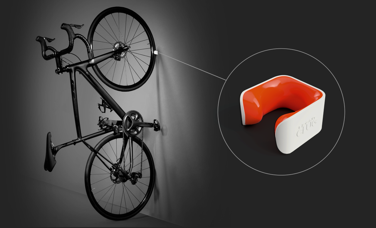 Móc treo xe gắn tường – Hornit Bike Clip