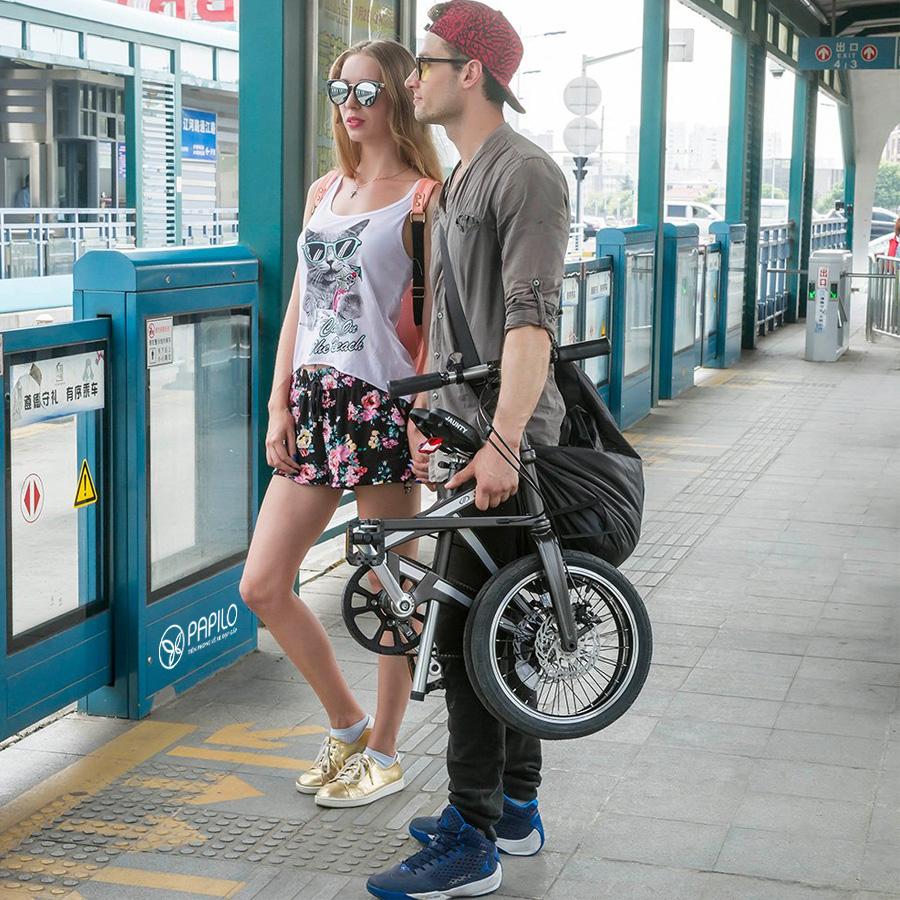 Xe đạp gấp Jaunty (Áo)