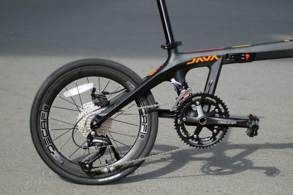 Xe đạp gấp khung carbon: Java Aria 2020 (mẫu mới nhất của Java Italia Probikes) Brand: Java - Italia
