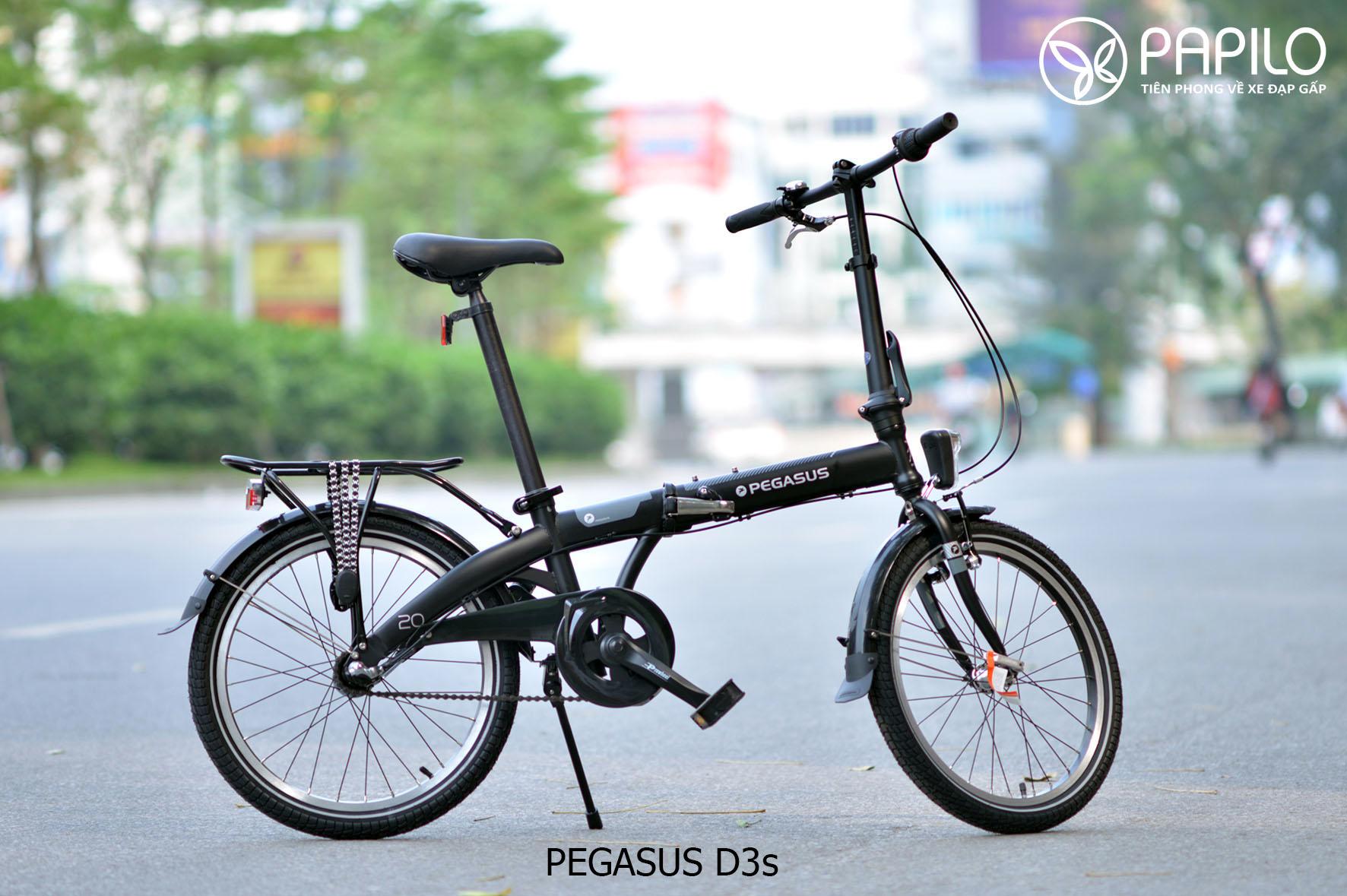 Pegasus D3s - Hãng xe đạp gấp nổi tiếng của Đức