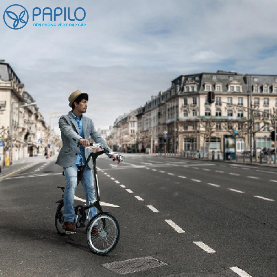 Xe đạp gấp Strida Evo-16