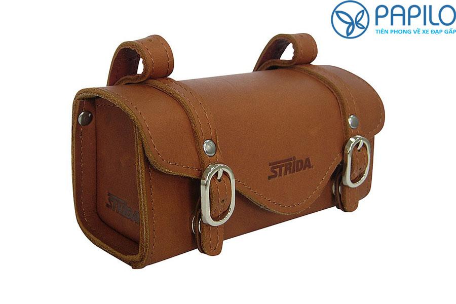 Túi treo sau yên bằng da bò Strida SB-008