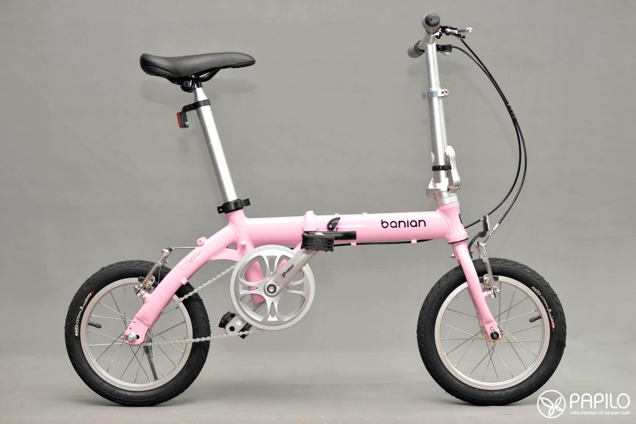 Xe đạp gấp Banian Angel- Xe dành cho các thiên thần
