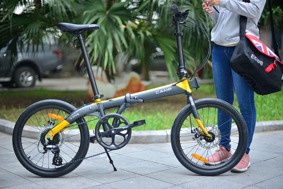 Xe đạp gấp Camp F-Five 2020