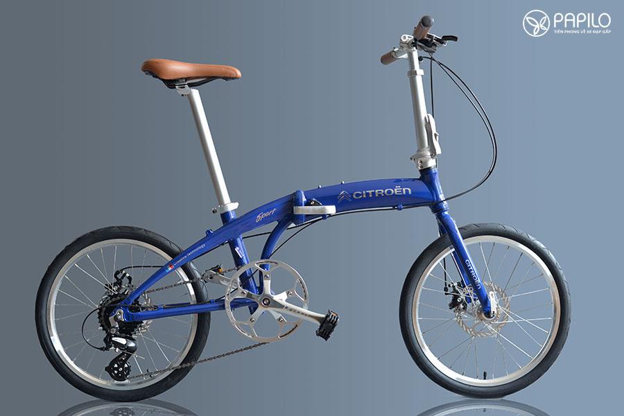 Xe đạp gấp Citroen (Pháp) – phong cách châu Âu