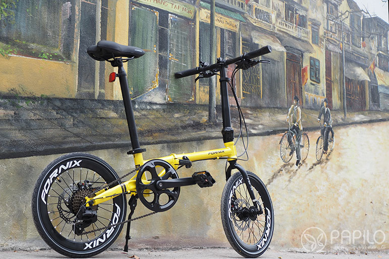 Xe đạp gấp Fornix Flux _ Kiểu dáng mới, trẻ trung và hiện đại