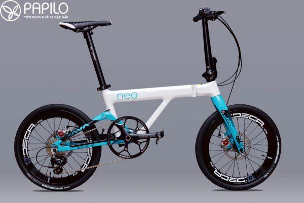 Xe đạp gấp Java Neo – khung carbon đẳng cấp của Italia