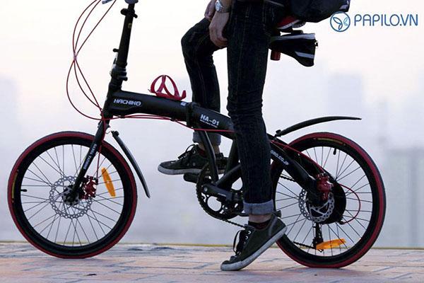 Chắn bùn xe đạp, kiểu lá tre